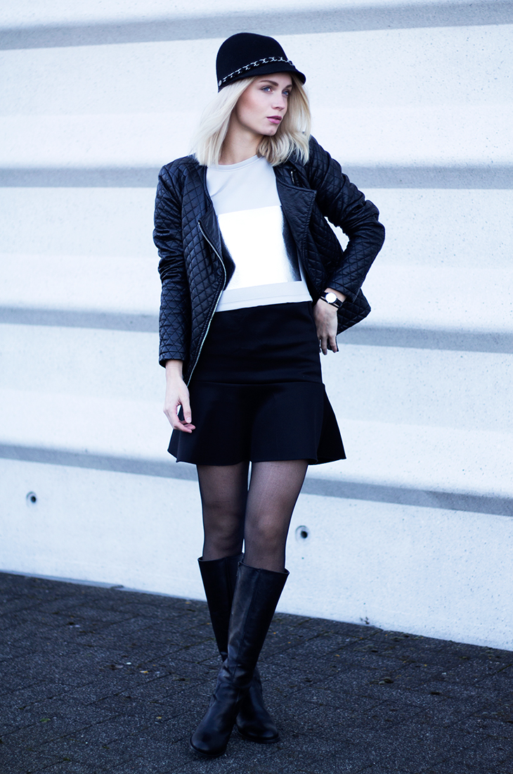 Fashion Attacks outfit ootd IvyRevel silver square