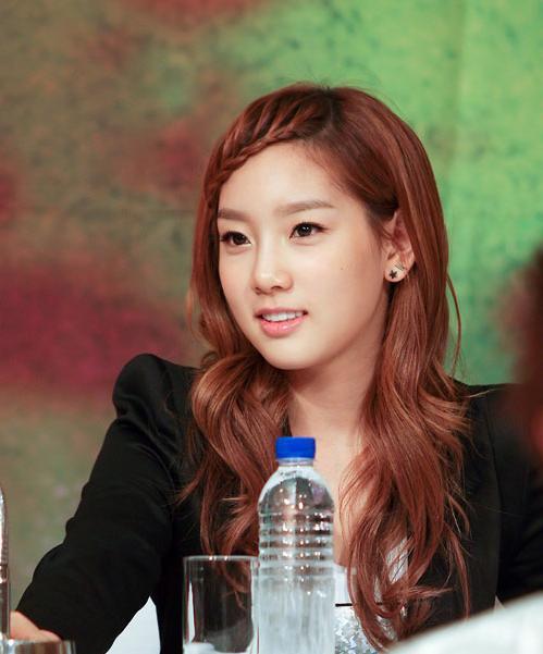 Taeyeon Hairstyle 2014