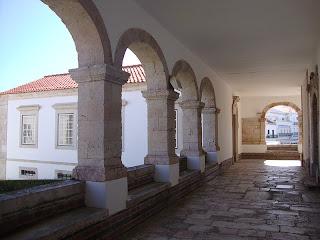 Sitio da Nazare Church Arches photo - Leiria