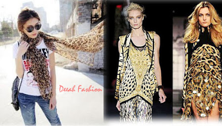 Busana-Busana Motif Leopard Trend Fashion