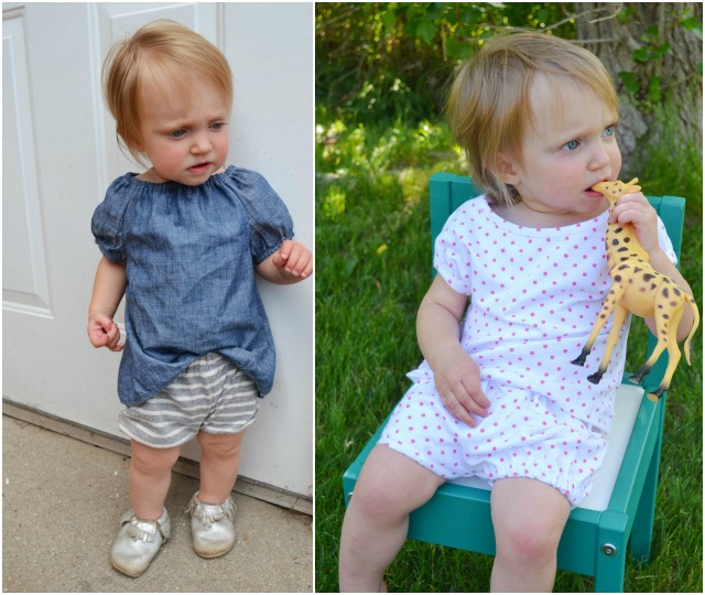 Free Baby Shorts Sewing Pattern + Bloomers - Heather Handmade