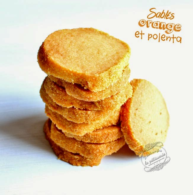 sablés orange polenta martha stewart