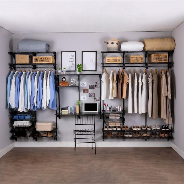 Armário aramado kit 35 - Closet ou home office
