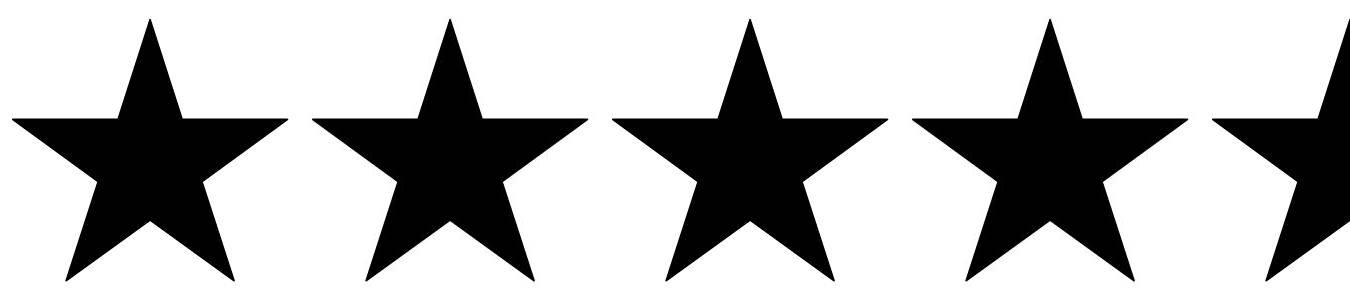 Image result for four and a half star rating