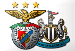 Benfica vs Newcastle United Liga Europa League 2013 Prediksi Skor (Line Up) BENFICA VS NEWCASTLE UNITED Leg 1 Liga Europa (Jum'at, 5 April 2013)