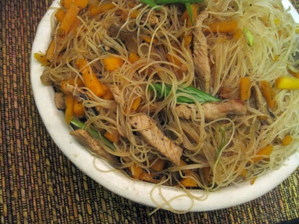 ... Taiwanese fall favorite: fried rice noodles with pumpkin