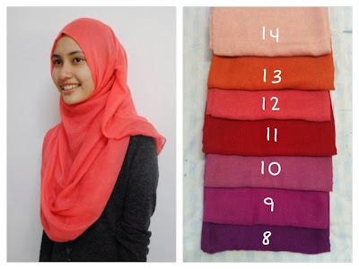 plain wide shawl
