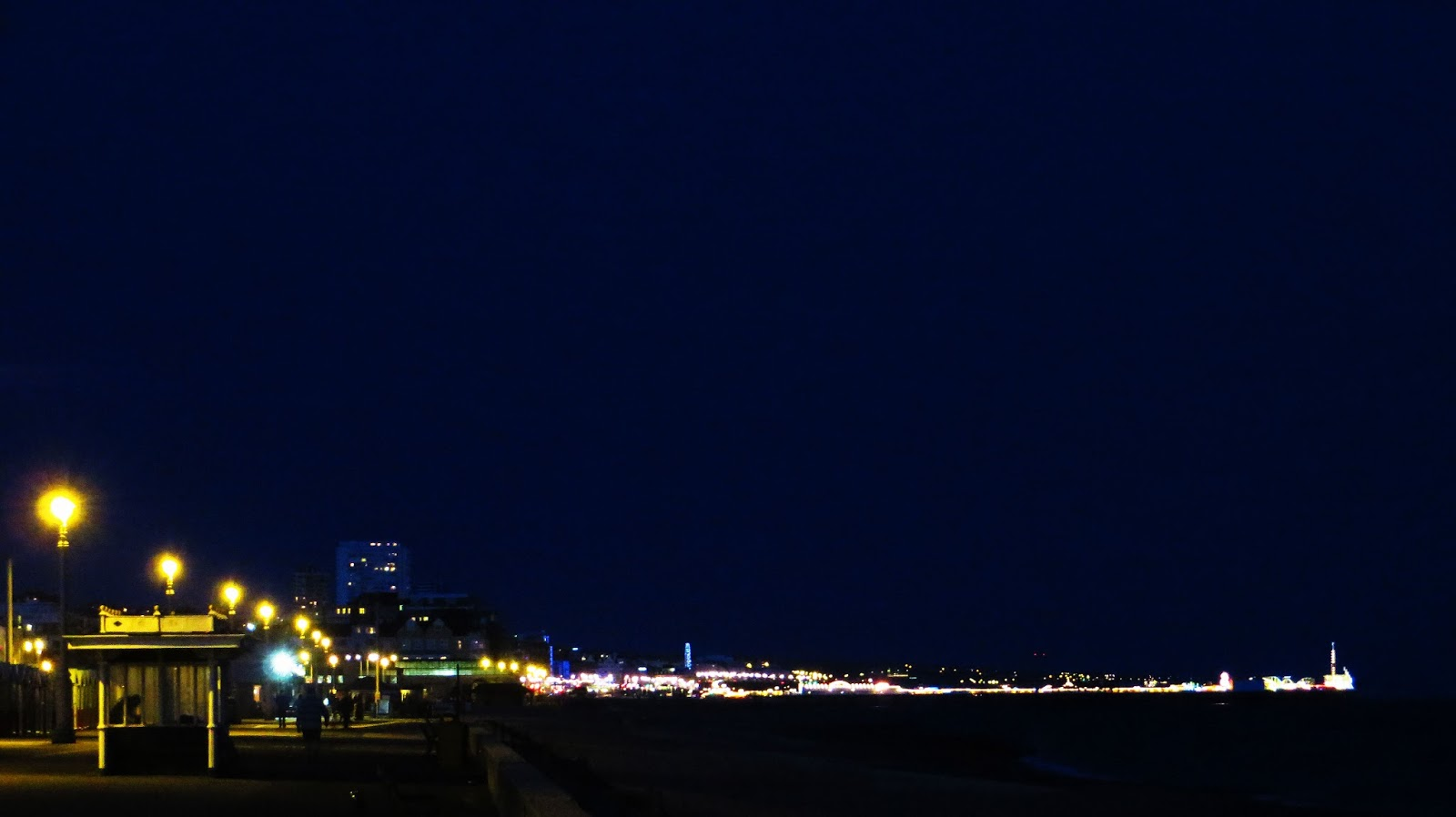 Brighton at night