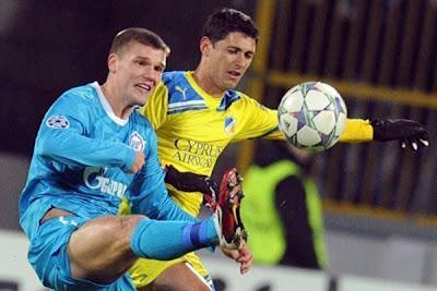 Zenit St. Petersburg 0 - 0 APOEL Nicosia (2)