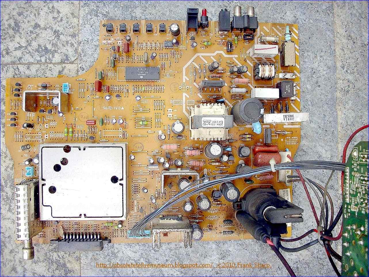 Obsolete Technology Tellye Panasonic Tc 14b3rc Chassis Z 375 Pushpull Converter Circuit Diagram Composed Of Tda4718 Basic General Description