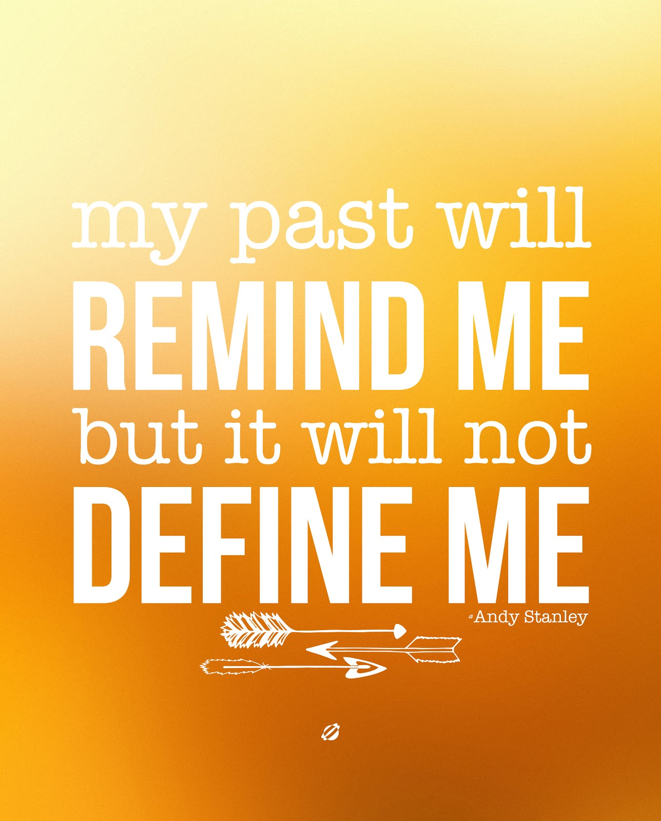 LostBumblebee ©2014 Andy Stanley My Past #free #printable Personal use only