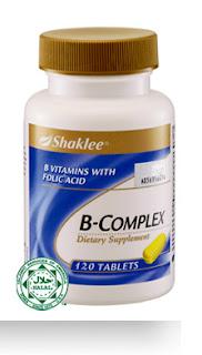 Tahukah Anda Vitamin B Complex : Apakah Kegunaanya???