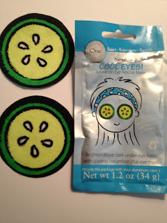 One Bath and Body Cooling Leave-On Eye Rescue Mask