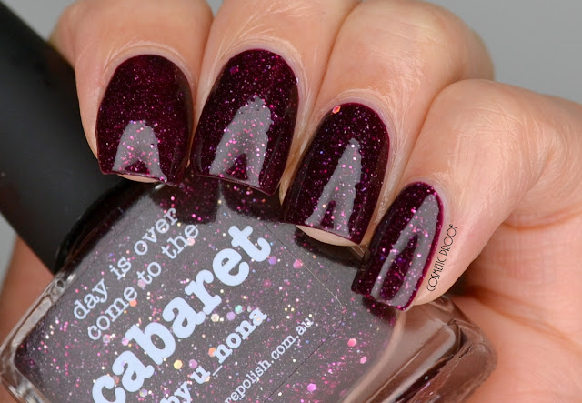 NAILS | Picture Polish Cabaret by u_nona #ManiMonday
