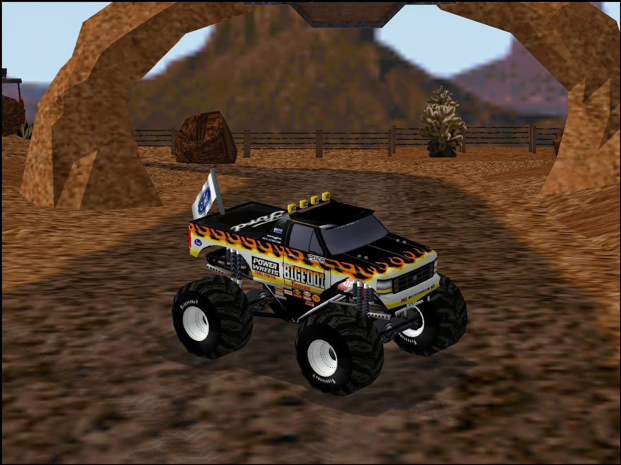 monster truck 2 games