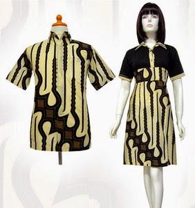 Model Baju Batik Couple Terbaru Trend 2015