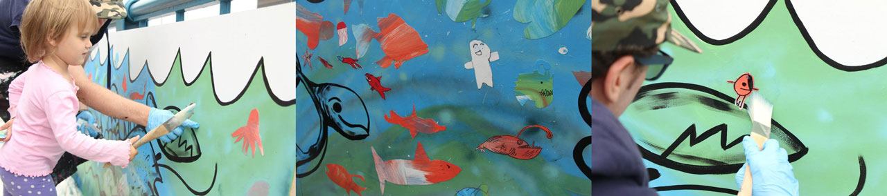 Kids Painted Fish Kids Painted Fi...