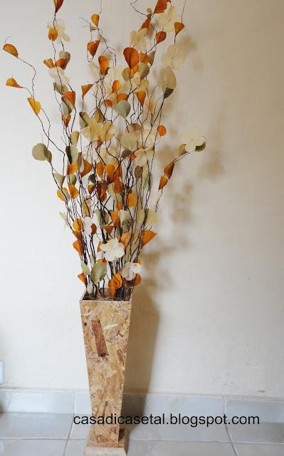 Fotos Arranjos De Flores Artificiais - Arranjos para decoração Casando Sem Grana