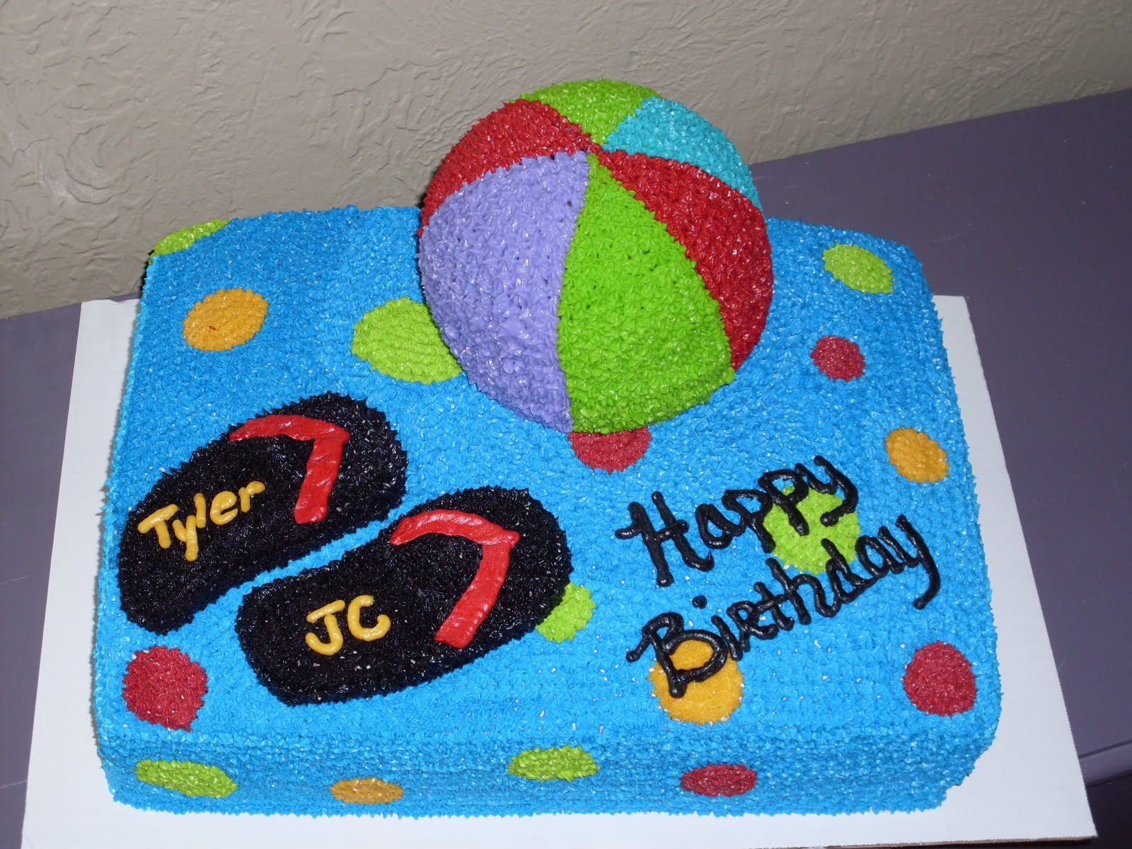 Kaci s Cake Delight: Happy Birthday, Tyler & JC!