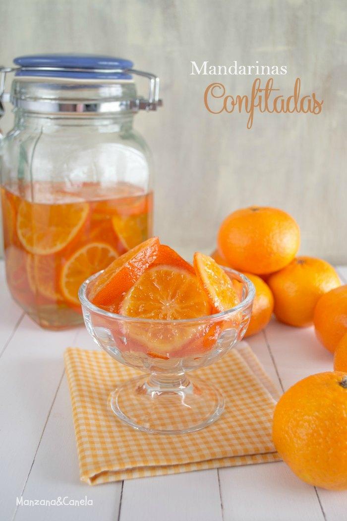 Como confitar mandarinas
