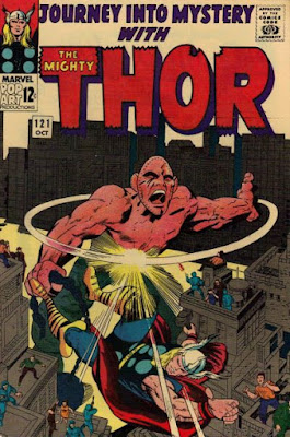 Journey into Mystery #121, Thor vs Absorbing Man