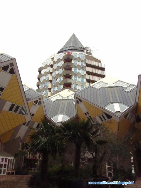 Rotterdam, Kubuswoning, architecture, cubic home