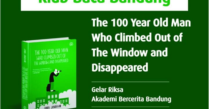 My little library liputan kegiatan baca bareng the 100 for 100 year old man who climbed out the window audiobook