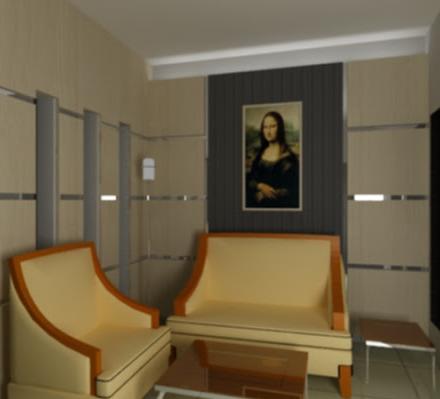 Desain interior ruang tamu rumah minimalis yang sederhana