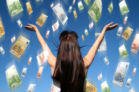 Ganhar dinheiro na loteria