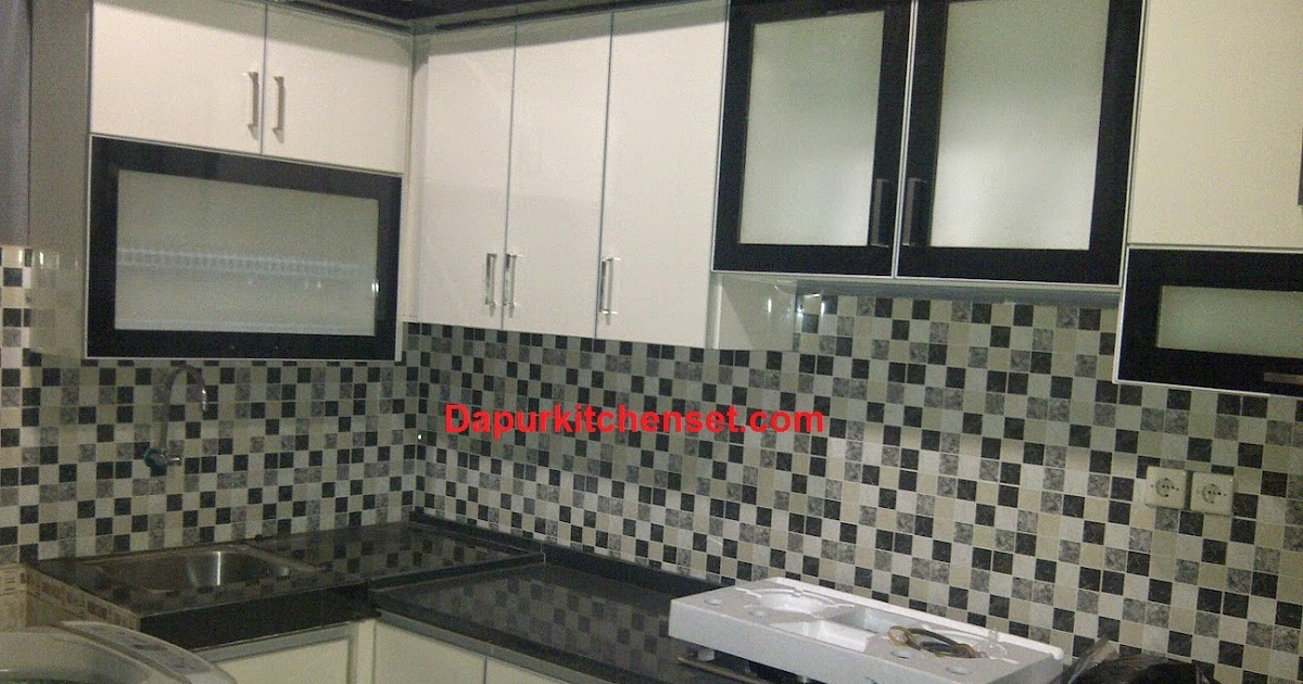 Jasa kitchen set harga kitchen set per meter murah for Harga kitchen set per meter lari