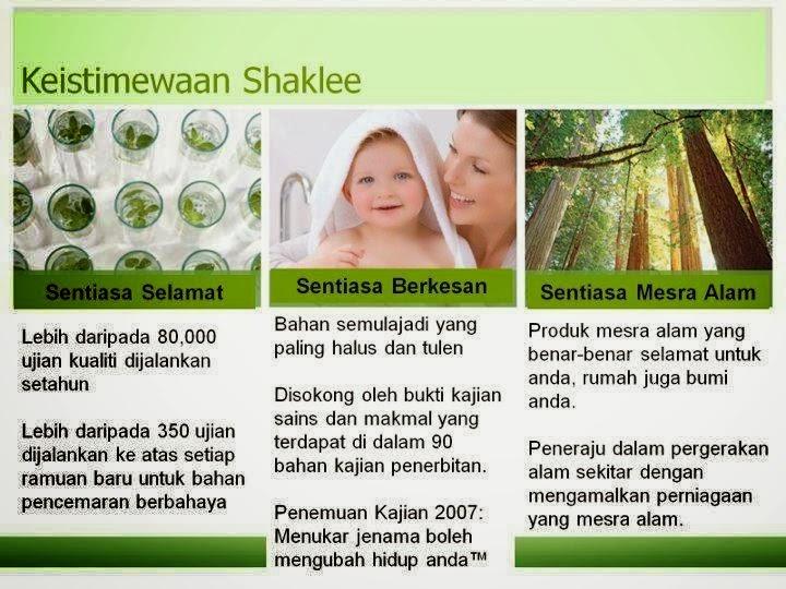 Perbezaan Shaklee