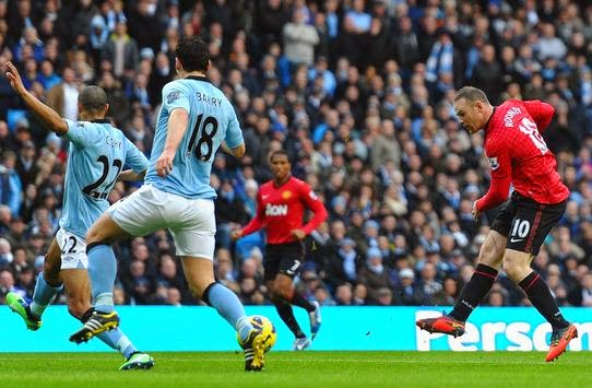 Manchester City-Manchester United 2-3