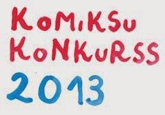 Komiksu Konkurss 2013