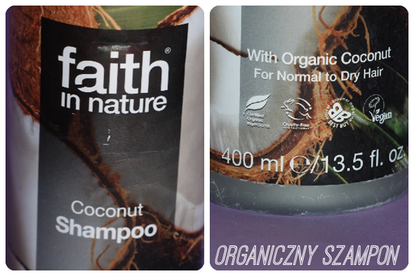 szampon kokosowy