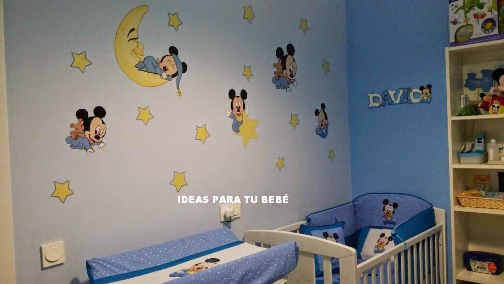 Modelo Habitación Baby Disney