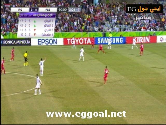 اهداف مباراة العراق وفلسطين 2-0 كأس امم اسيا || 20-1-2015 ||
