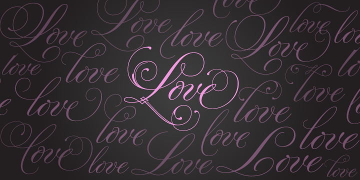[Wedding fonts] Parfumerie Script Pro