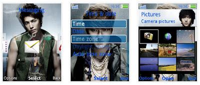 Super Junior SonyEricsson手機主題Style 2 for Elm/Hazel/Yari/W20﹝240x320﹞