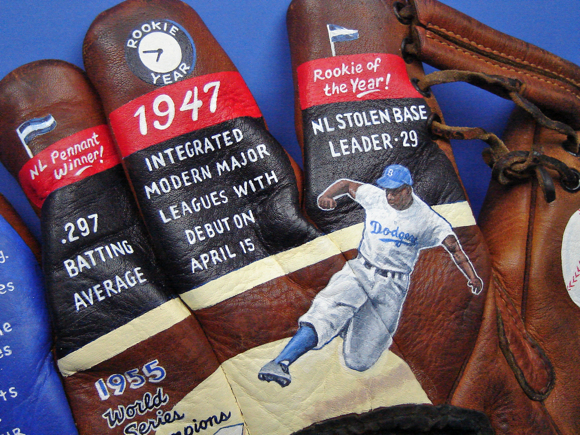 Jackie Robinson collectible by Sean Kane