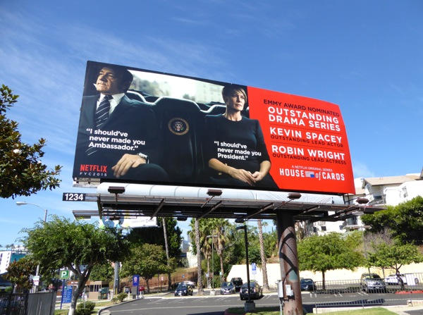 House of Cards Emmy 2015 billboard