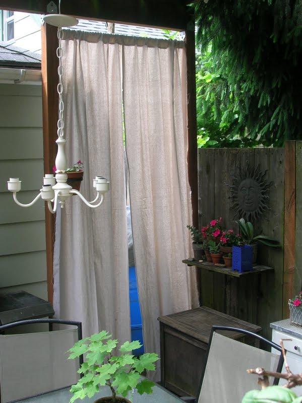 Rindy Mae 10 Minute Patio Curtain