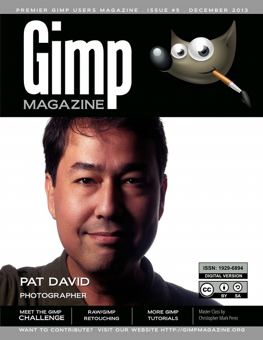 GIMP Magazine Cover Pat David