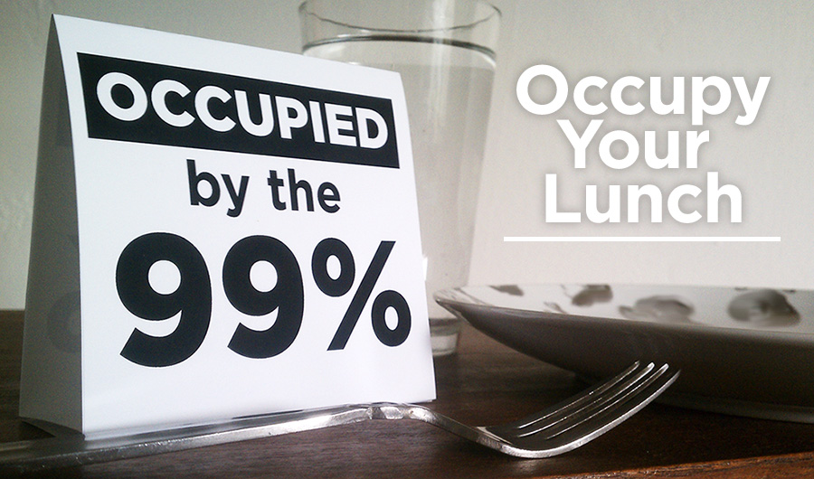 Occupy Your Lunch