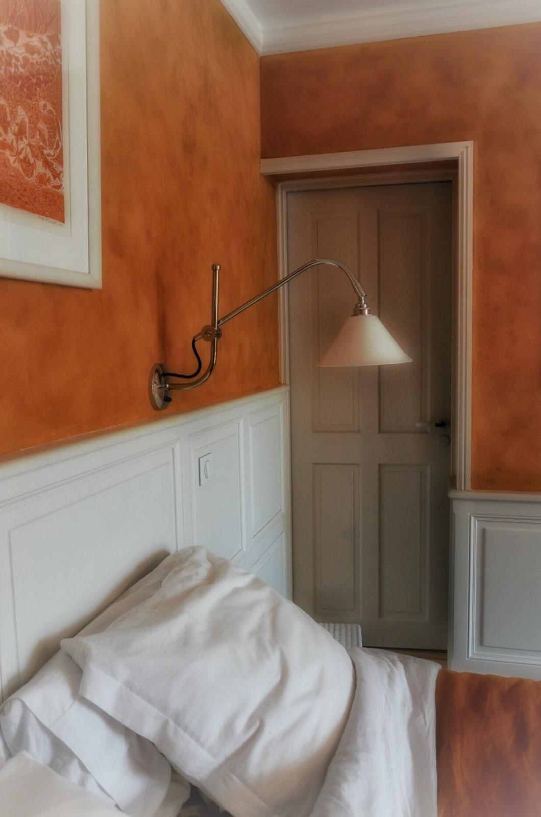Chambre ocre rouge: une adresse romantique pour la saint. peinture ...