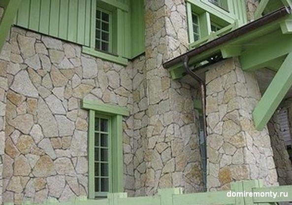 Преимущества строительства дома из природного камня