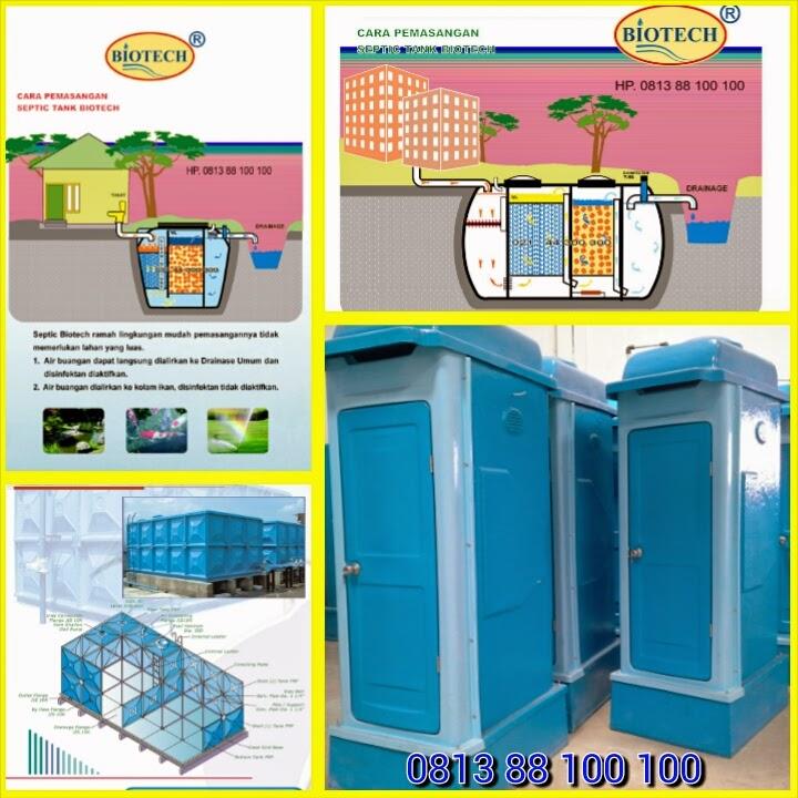 toilet portable fibreglass, septic tank biotech, stp, panel frp, biofive,biofil, biogift