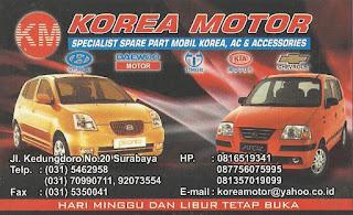 Parts Shop Resmi Mobil Korea