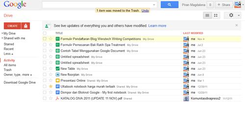 Membuat Formulir Pendaftaran Dengan Google Docs