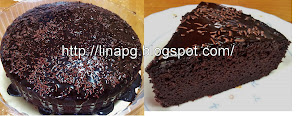 Tempahan Kek Coklat Moist