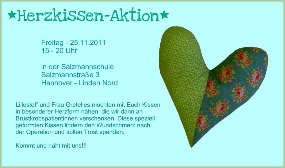 Lillestoff: Herzkissen-Aktion!